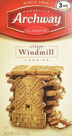 dutch windmill cookies